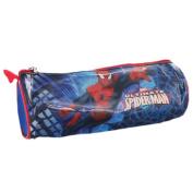 Spiderman Barrel Pencil Case