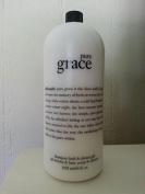 Philosophy Pure Grace 3-in-1 Shampoo, Shower Gel, Bubble Bath Huge 1890ml