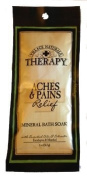 2 x Village Naturals Therapy Aches & Pains Relief Mineral Bath Soak in Eucalyptus & Menthol