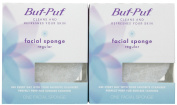 Buf, Puf Regular Facial Sponge, 2 Pack