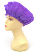 XL X-Large Shower Cap in Purple, Could Also Be Used in Deep Hair Conditioning, Hair Protection, Full Size 50cm Extra Large Water-Proof Shower Cap with Comfortable Elastic Band