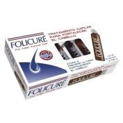 Folicure Tratamiento Cpilar/For fuller thicker hair 5 Ampolletas de 7ml