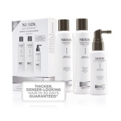 Nioxin System 1 Trial Kit for normal to thin hair AMPLIFIES HAIR TEXTURE