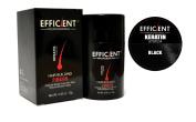 EFFICIENT Keratin Hair Building Fibres, Hair Loss Concealer Net Wt. 12gm / 10ml