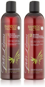 Peter Lamas Bamboo Nectar Shine Enhancing Shampoo and Conditioner Set, 24.00 Fluid Ounce
