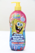 Spongebob Squarepants All-In-One Shower Gel/Shampoo/Conditioner 410ml Mango Tango