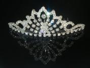 Wedding Crown, Bridal Tiara Rhinestone Crystal Crown C16