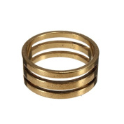 NEW DIY Raw Brass Jump Ring Findings Open/Close Tool For Jewellery Making 19x9mm