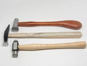 3 Chasing Hammer Repousse Silversmithing Goldsmithing Tools Ball Pein Ramelson
