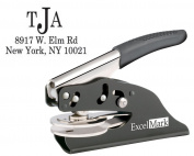 ExcelMark Hand Held Monogram Address Gift Embosser - Style 20