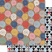 Handi Scandi Double-Sided Cardstock 30cm x 30cm -Meadow