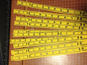 Weaving Star Strip Papers, 1.9cm , 50 Pack, Double Sided Measuring Tape