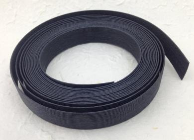 Black Fold 'Ems Paper Cord Ribbon Roll