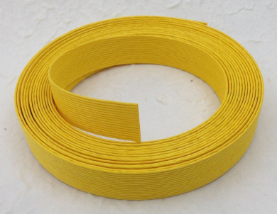 Yellow Fold 'Ems Paper Cord Ribbon Roll