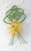 Chrysanthemum Kami Cord Embellishment