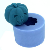 Creativemoldstore 1pcs Small Chortle Pumpkin (LZ0117) Craft Art Silicone Soap/Candle Mould Craft Moulds DIY Handmade Moulds