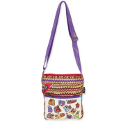 Laurel Burch Karly's Cats Crossbody Bag 5382