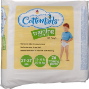 Ahold Cottontails Training Pants for Boys Size 2T-3T (10-16kg) - 26 CT