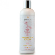 Puracy Organic Baby Lotion - The BEST Calming Moisturiser - Gentle - Non-Toxic - Nourishing - Lavender & Grapefruit - 350ml Bottle