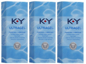 K-Y KY Ultragel Personal Lube Lubricant 1.5 oz (44 ml) Pack of 3