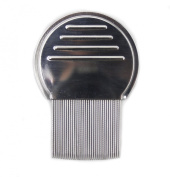 Utrax Stainless Steel Nit Free Terminator Lice Comb Louse and Nit Comb for Head Lice Treatment Removes Nits