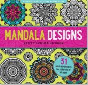 Mandala Designs Artist's Coloring Book
