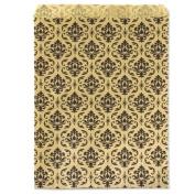 Gift Bag Damask Print 18cm x 13cm