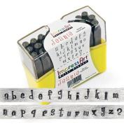 ImpressArt SC1311 27-Piece Lowercase Stamp Set, 4 mm, Jeanie