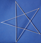 41cm Star Wire Wreath Form
