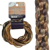 2mm Satin Rattail Braiding Cord Wheatberry 12 Yards For Kumihimo and Craft 420184