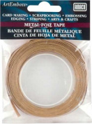 AMACO ArtEmboss Metal Foil Tape, 0.6cm -by-4.9m, Copper