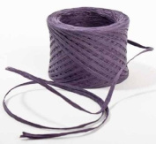 PURPLE Paper Raffia Ribbon 0.6cm x 100 yards