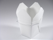 Chinese Take Out Food Boxes 950ml (0.9l) 25 Pack - White
