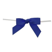 Small Royal Blue Grosgrain Bow Pack of 100