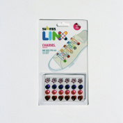 SHWINGS LINX Rainbow Rubber Band Footwear Accessory and Charms - The first shoe LOOM!