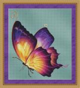 Flutter #2 Butterfly Cross Stitch Pattern