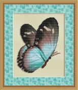 Flutter #3 Butterfly Cross Stitch Pattern