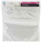Totally-Tiffany SRSP-P67 Scrap Rack Basic Storage Page, Triple Play, 10-Pack