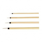 6 Pack BAMBOO BRUSH ROUND Drafting, Engineering, Art