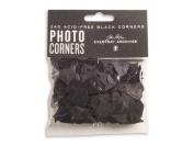 JOHN PORTER 02-100 ACID-FRE BLACK PHOTO CORNERS 240 PCS