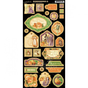 Graphic 45 An Eerie Tale Decorative Chipboard