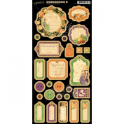 Graphic 45 An Eerie Tale Journaling Chipboard