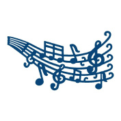 Musical Notes Tattered Lace Cutting Die D159