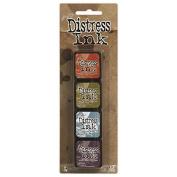 Ranger Tim Holtz Distress Mini Ink Pad Kits - Kit 8