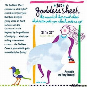 "Fat Goddess Applique Pressing Sheet 21"" x 27"" (52.3cm x 68.6cm) Inch Transparent Reusable Non-stick Craft Sheet-press Cloth"
