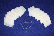 Mylar 5.1cm Diamonds 51 Piece Set - Quilting / Sewing Templates