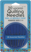 Quilting Needle Compact-assorted 20/pkg