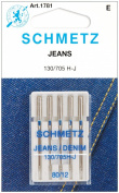 Jean & Denim Machine Needles-Size 12/80 5/Pkg