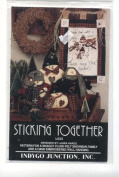 "Snowman Family Stuffed Doll ""Sticking Together"" and Wall Hanging Craft Sewing Pattern"