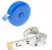 2 Pcs 150cm Tape Measure & Retractable Tape Measure Sewing Accessory Set